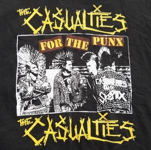 Vintage The Casualties t-shirt
